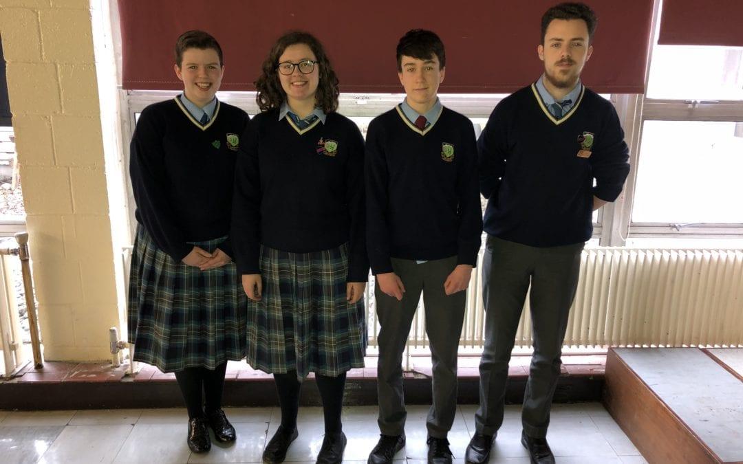 Dublin Senior Cycle History Quiz Runners Up